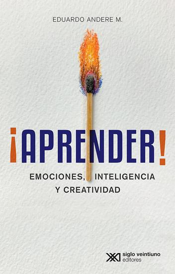 ¡Aprender! - Emociones inteligencia y creatividad - cover