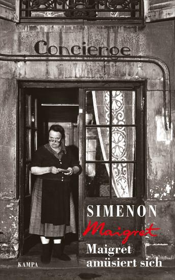 Maigret amüsiert sich - cover