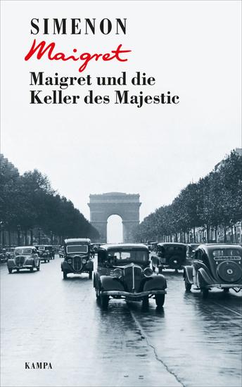 Maigret und die Keller des Majestic - cover