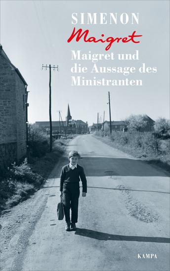 Maigret und die Aussage des Ministranten - cover