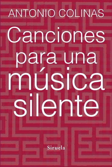 Canciones para una música silente - cover