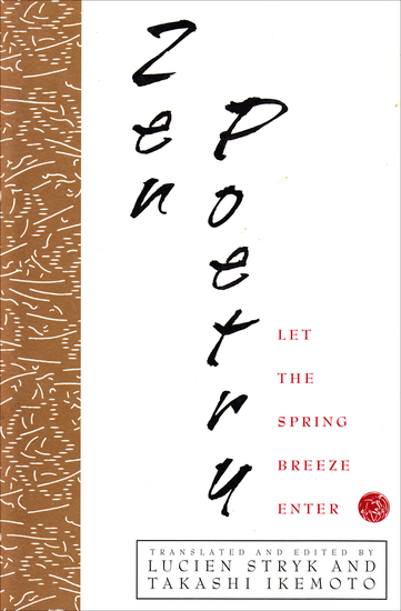 Zen Poetry - Let the Spring Breeze Enter - cover