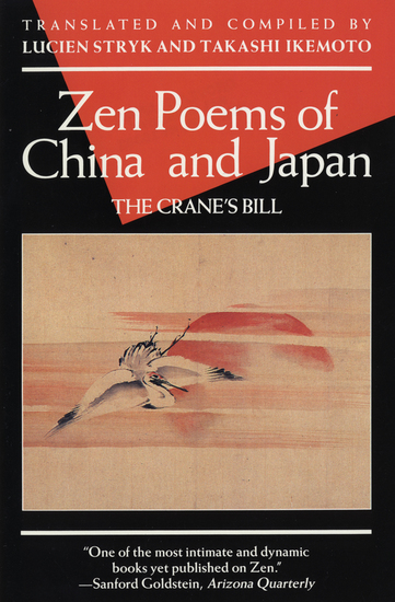 Zen Poems of China and Japan - The Crane's Bill - cover