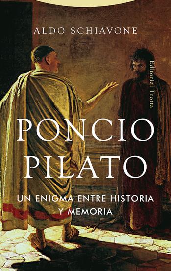 Poncio Pilato - Un enigma entre historia y memoria - cover