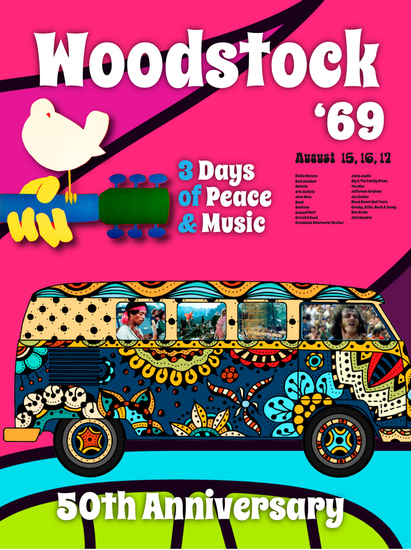 Woodstock '69 - 50th Anniversary - cover