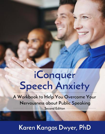 iConquer Speech Anxiety - A Workbook to Help You Overcome Your Nervousness About Public Speaking - cover
