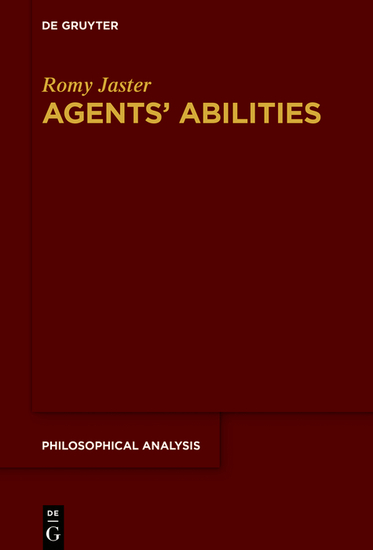 Agents' Abilities - cover