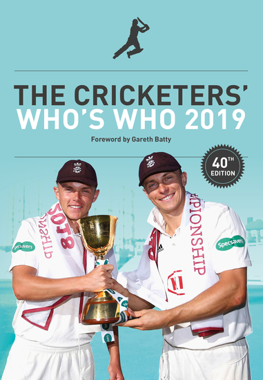 The Cricketers' Who's Who 2019 - cover