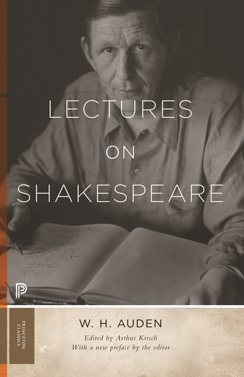 Lectures on Shakespeare - cover