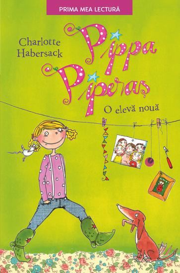Pippa Piperaș O elevă nouă - cover