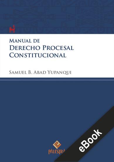 Manual de derecho procesal constitucional - cover