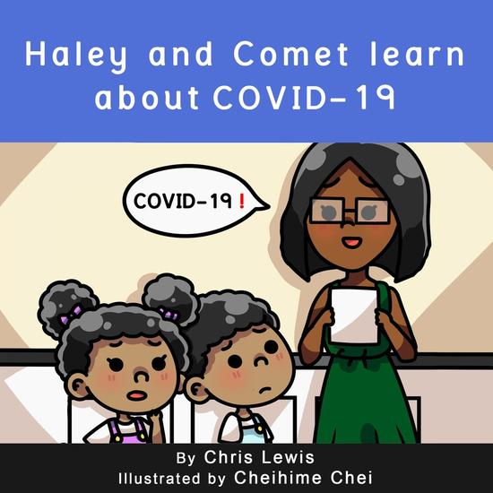 Haley and Comet Learn About COVID-19 - cover