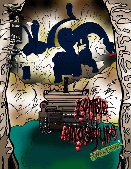 Zombie Dinosaurs Awakening Issue #3 - Zombie Dinosaurs Awakening #3 - cover