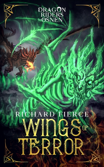 Wings of Terror - Dragon Riders of Osnen Book 5 - cover