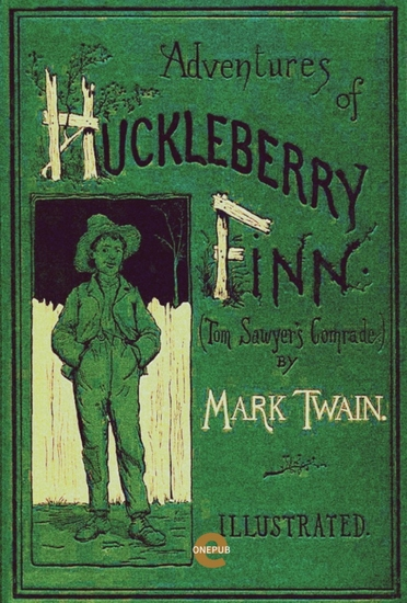 The Adventures of Huckleberry Finn(Illustrated) - cover