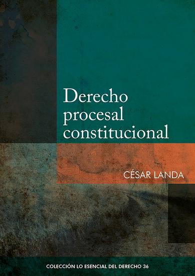 Derecho procesal constitucional - cover