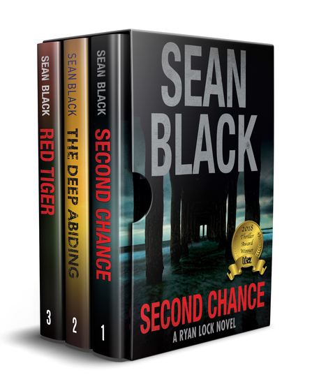3 Ryan Lock Crime Thrillers: Second Chance; Red Tiger; The Deep Abiding - cover