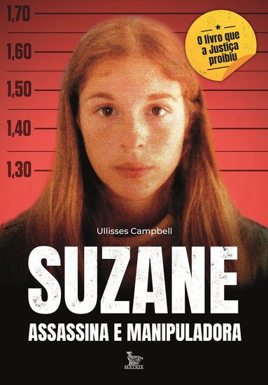 Suzane: assassina e manipuladora - cover