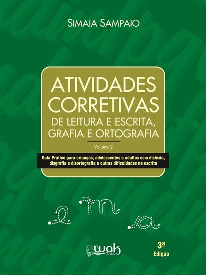 Atividades corretivas de leitura e escrita grafia e ortografia - cover