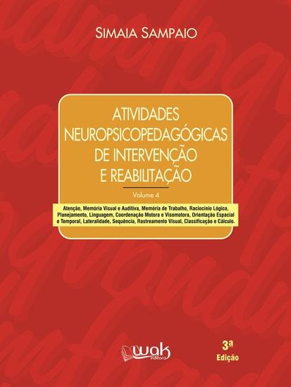 Atividades neuropsicopedagógicas de intervenção e reabilitação - cover