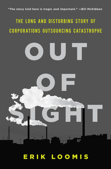 Out of Sight - The Long and Disturbing Story of Corporations Outsourcing Catastrophe - cover