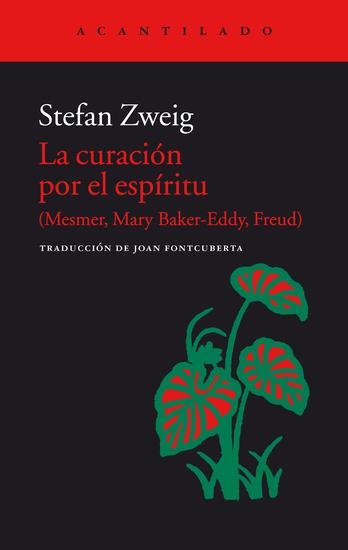 La curación por el espíritu - (Mesmer Mary Baker-Eddy Freud) - cover
