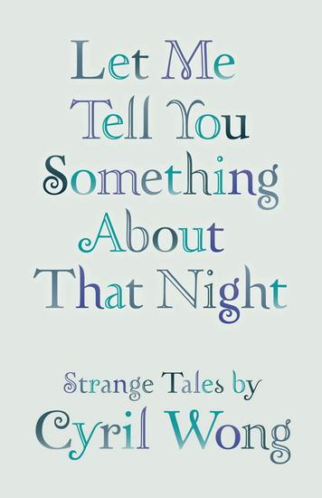 Let Me Tell You Something About that Night - cover