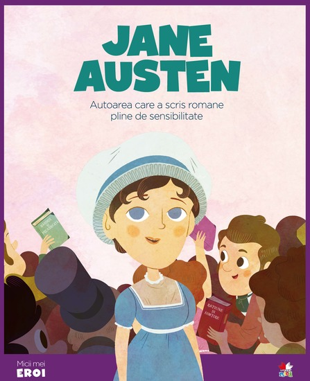 Micii eroi - Jane Austen - cover
