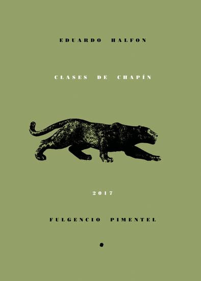Clases de chapín - cover
