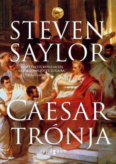 Caesar trónja - cover