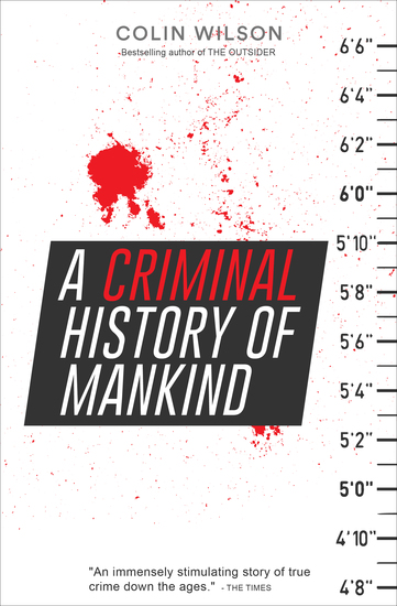 A Criminal History of Mankind - cover