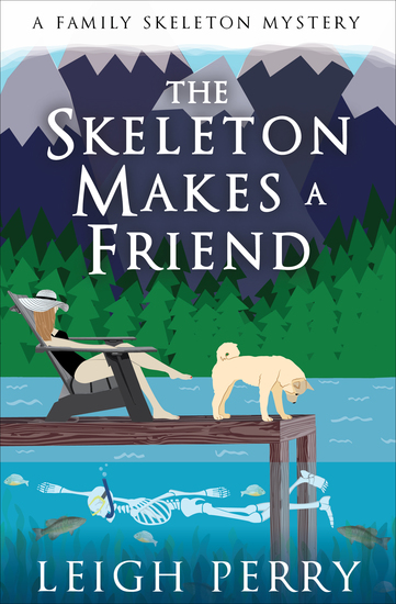 The Skeleton Makes a Friend - cover