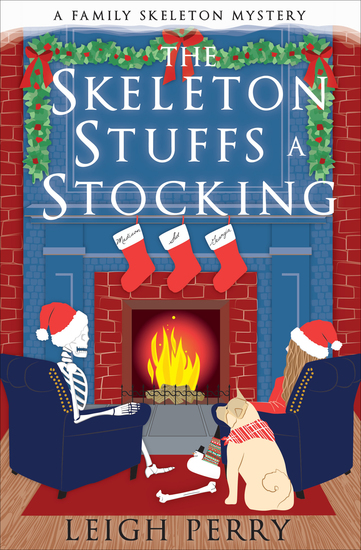 The Skeleton Stuffs a Stocking - cover
