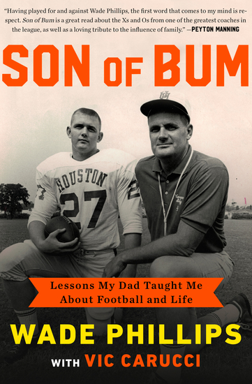 Son of Bum - Lessons My Dad Taught Me About Football and Life - cover