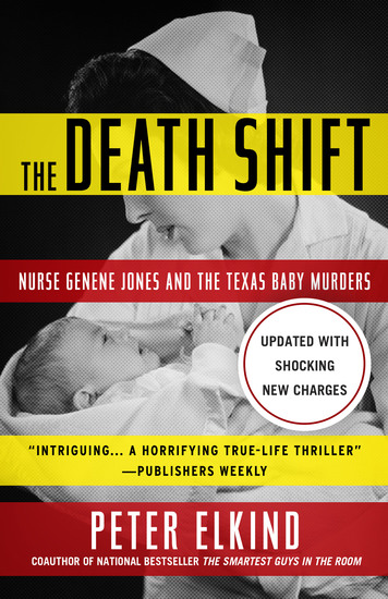 The Death Shift - Nurse Genene Jones and the Texas Baby Murders - cover