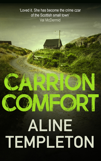 Carrion Comfort - A chilling Scottish mystery - cover