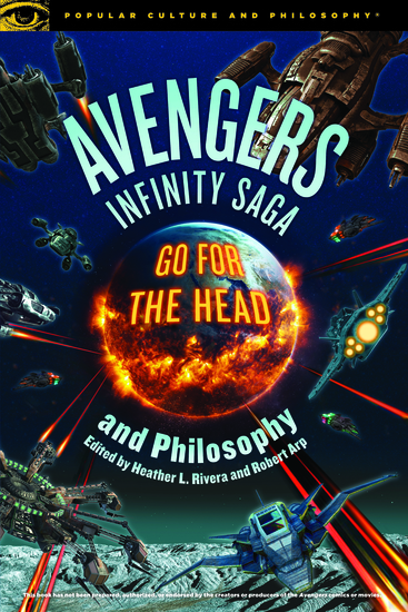 Avengers Infinity Saga and Philosophy - cover