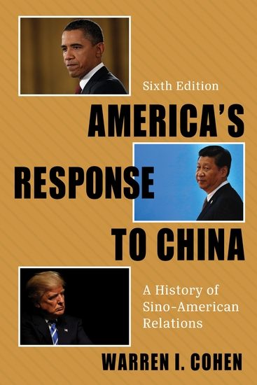 America's Response to China - A History of Sino-American Relations - cover