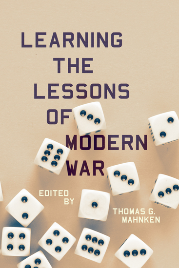 Learning the Lessons of Modern War - cover