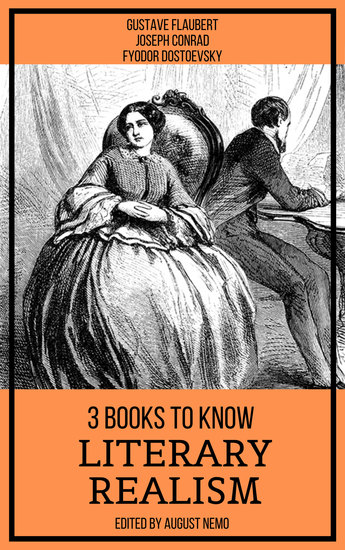 3 books to know Literary Realism - cover