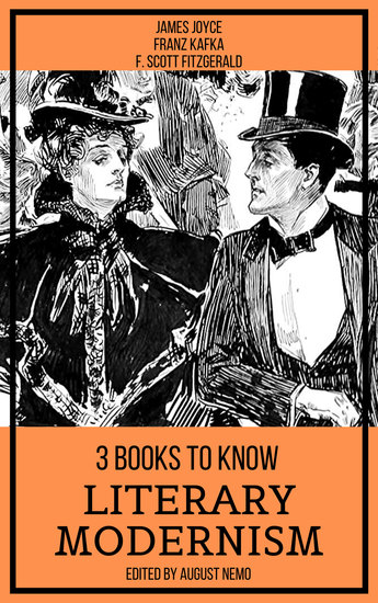 3 books to know Literary Modernism - cover