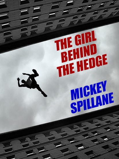 The Girl Behind the Hedge - cover