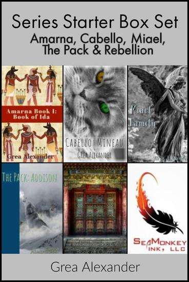 Series Starter Box Set: Amarna Cabello Miael The Pack & Rebellion - Series Starters - cover