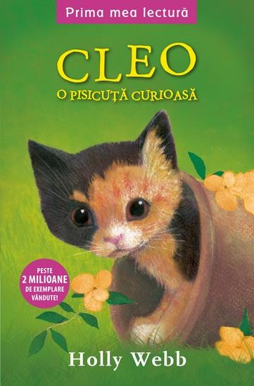 Cleo o pisicuta curioasa - cover