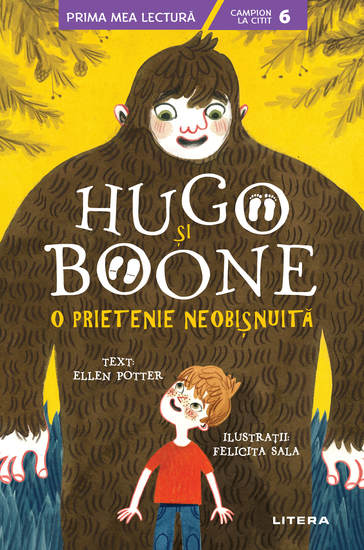 Hugo și Boone O prietenie neobișnuită - cover