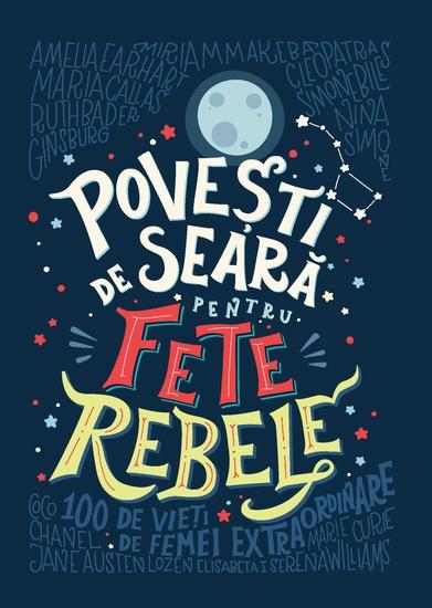 Povești de seară pentru fete rebele - cover