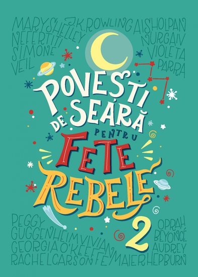 Povești de seară pentru fete rebele 2 - cover