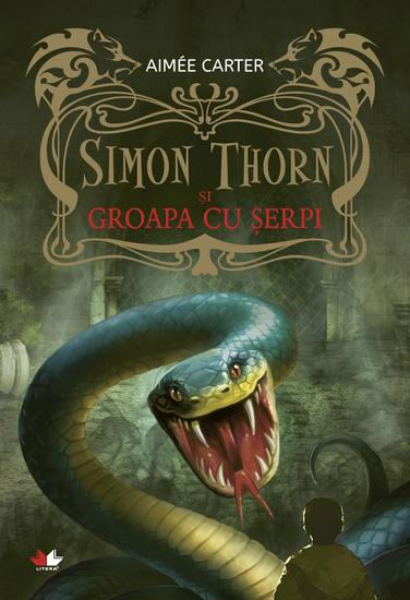Simon Thorn și groapa cu șerpi - cover