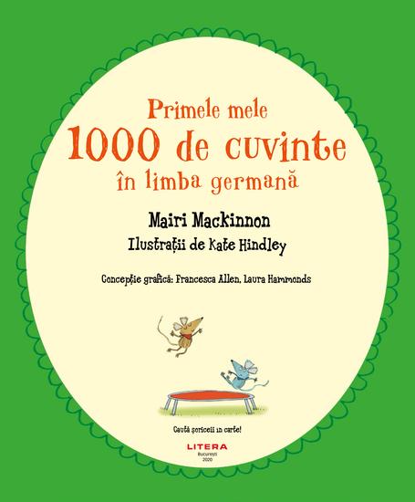 Primele mele 1000 de cuvinte în limba germană - cover