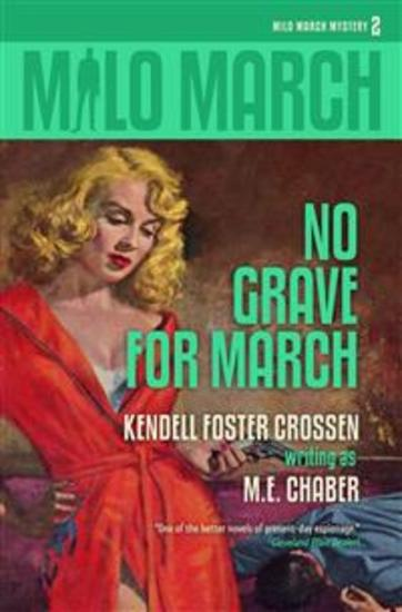 Milo March #2 - No Grave for March - cover